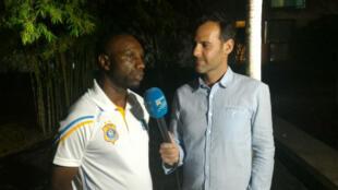 Le sélectionneur des Léopards de la RDC Florent Ibenge, en interview sur France 24.