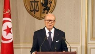 الرئيس التونسي الباجي القائد السبسي
