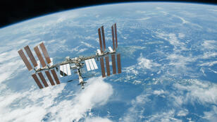 La Station spatiale internationale en 2010.