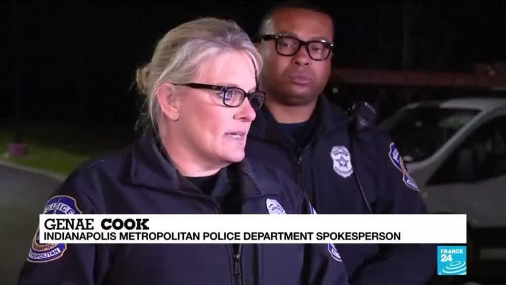 2021-04-16 11:05 Gunman kills eight, takes own life at FedEx site in Indianapolis