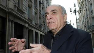رجل الأعمال اللبناني الفرنسي زياد تقي الدين في صورة له تعود إلى الخامس عشر من تشرين الثاني/نوفمبر 2016 في باريس