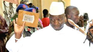 La Gambie est dirigée d'une main de fer par le président Yahya Jammeh depuis 21 ans.