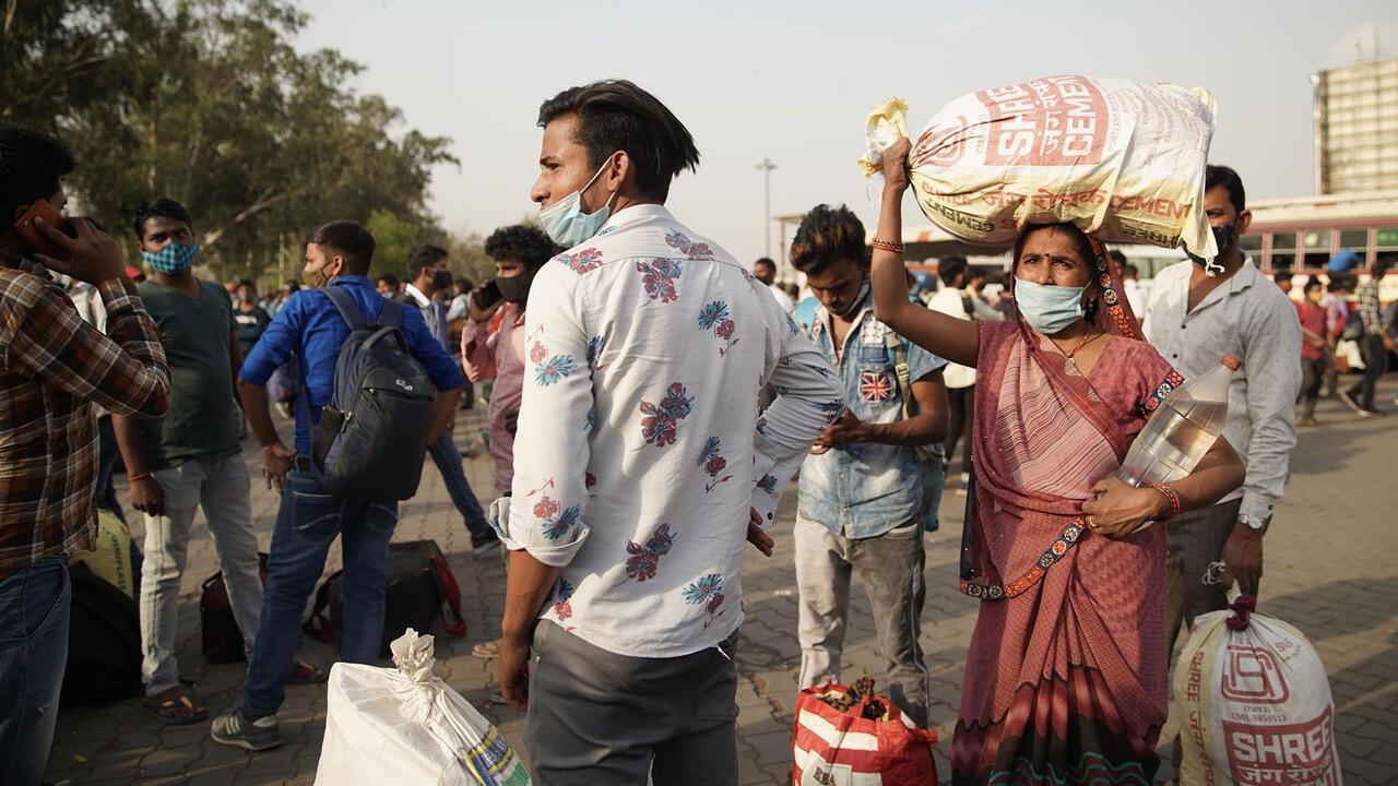 ARTE - India, miedo a la doble mutante