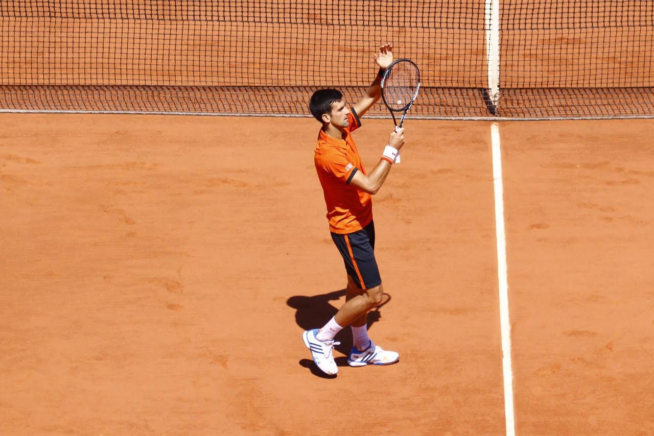 Le Serbe Novak Djokovic a remporté sa demi-finale contre Andy Murray.