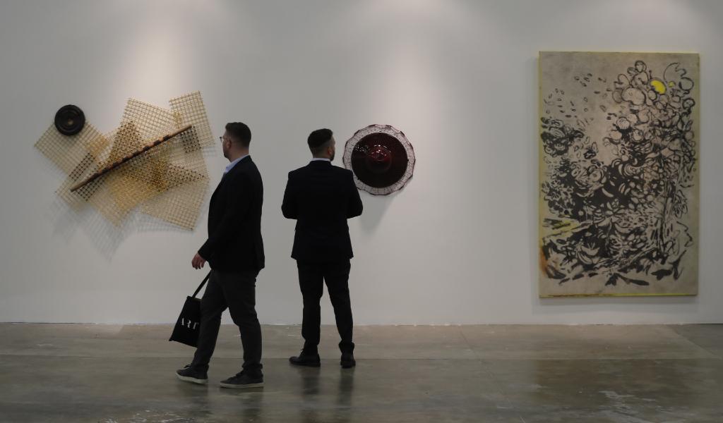 Exhibición de la galería Instituto de Visión, de Bogotá.