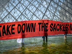 Louvre removes Sackler name amid controversy over opioid crisis