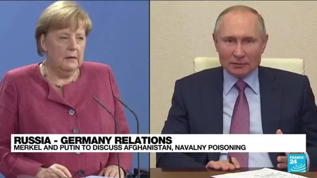2021-08-20 12:03 Merkel and Putin to discuss Afghanistan, Navalny poisoning