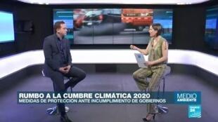 Sebastián Navarro de CC35 habla sobre la importancia de la gobernanza local y regional en la lucha contra el cambio climático.