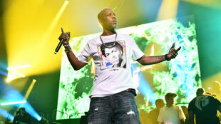 Rapper DMX, seen performing in New York in 2019, was among hip-hop's darkest stars