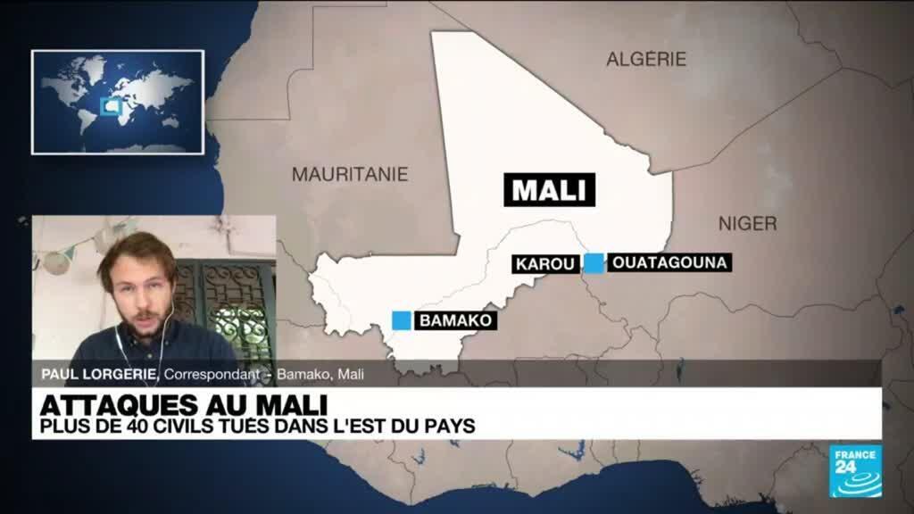 2021-08-09 11:01 Mali : plus de 40 civils tués par des jihadistes présumés