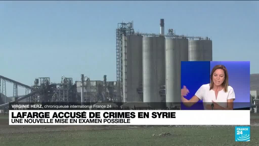 """2021-09-07 16:02 Lafarge risque une mise en examen pour """"complicité de crimes contre l'humanité"""" en Syrie"""