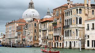 Venice's canals and cobbled roads are now empty thanks to the coronavirus lockdown