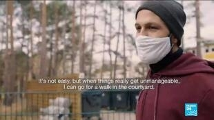 Hasan is a Syrian refugee living in a Berlin asylum centre.