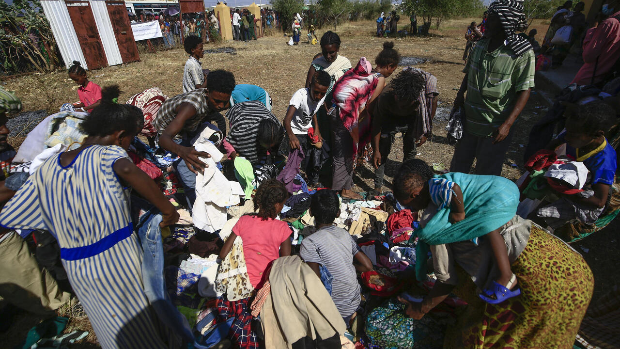 Sudan struggles with refugee influx from Ethiopia's Tigray region