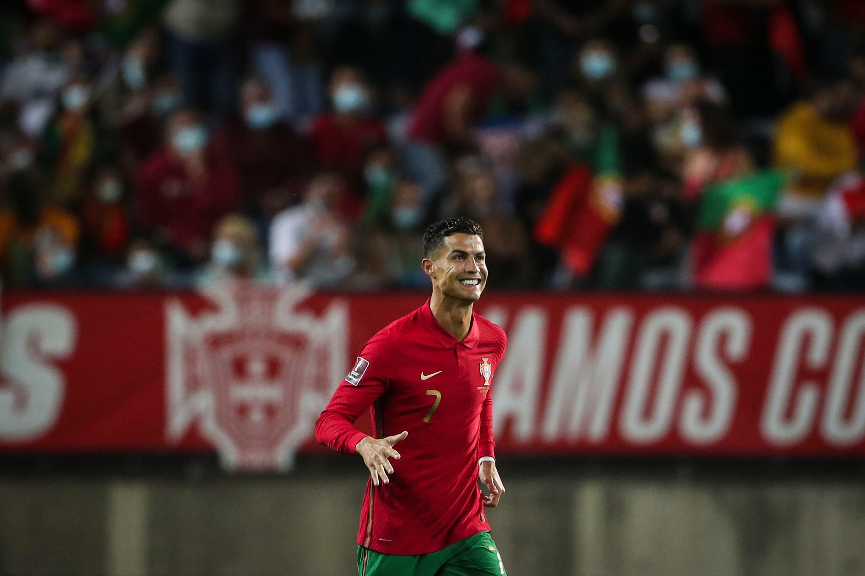 Cristiano Ronaldo a marqué deux fois sur penalty en première mi-temps du Portugal