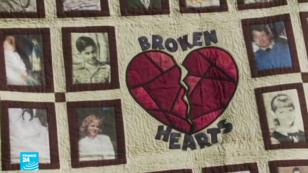 """صور لضحايا قصر للتحرش، وأطلق على عملية استهدفت شبكة المتحرشين """"بروكن هارت"""""""