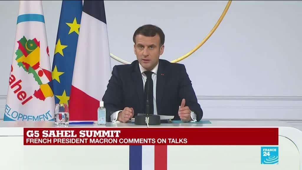 2021-02-16 12:36 REPLAY: Macron says no 'immediate' reduction of France's Sahel force
