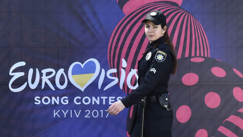 Une policière ukrainienne à Kiev, le 4 mai 2017.