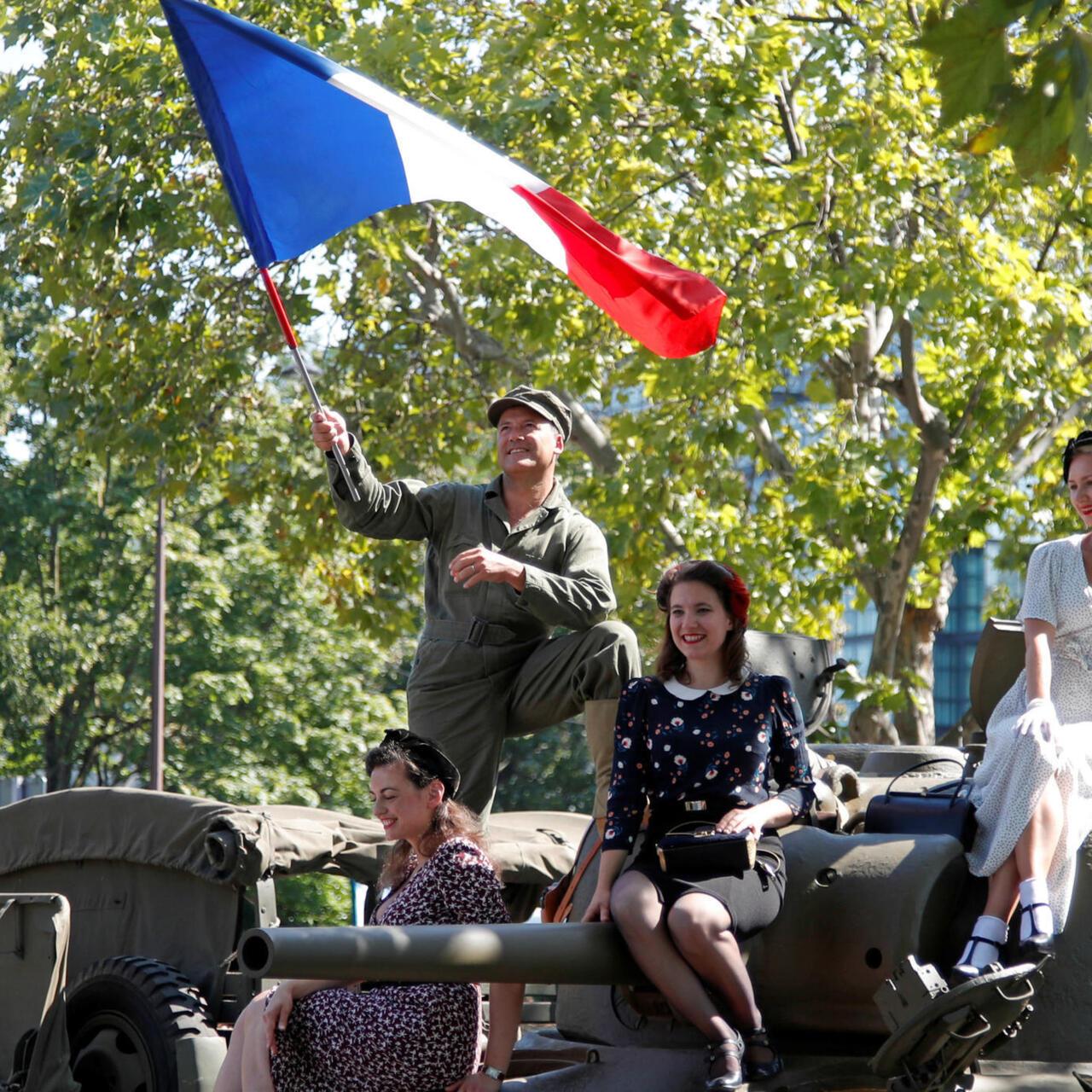 París Liberado La Capital Francesa Conmemoró El 75 Aniversario De Su Liberación