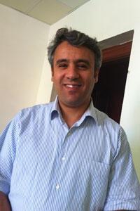 Nizar Kawan, member of the Muslim Brotherhood's JDP party, who is running as an independent.