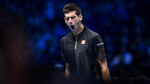 Novak Dkokovic affrontait le Japonais Kei Nishikori le 15 novembre à Londres