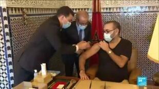 2021-01-29 13:11 Morocco's king kicks off country's virus vaccination drive