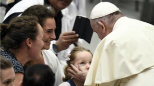 Le pape François au Vatican, le 9 août 2018.
