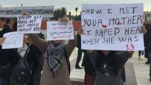 مظاهرة في تونس ضد قانون يتيح تزويج قاصرات من مغتصبيهن