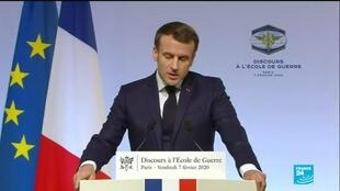 2020-02-07 14:40 Macron unveils nuclear doctrine, warns EU 'cannot remain spectators' in arms race