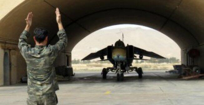 قاعدة عسكرية سورية على بعد 50 كم من دمشق