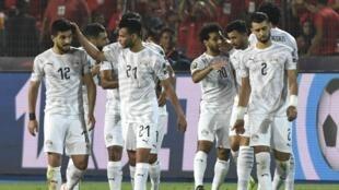 منتخب مصر حقق كل أهدافه في الدور الأول. 30 يونيو 2019.