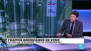 2021-02-26 10:02 Frappes américaines en Syrie : quelles conséquences pour l'accord sur le nucléaire ?