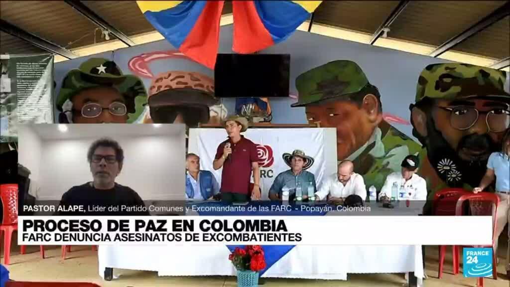 """2021-08-22 01:10 Pastor Alape: Los excombatientes de las FARC """"estamos siendo sometidos a un exterminio"""""""