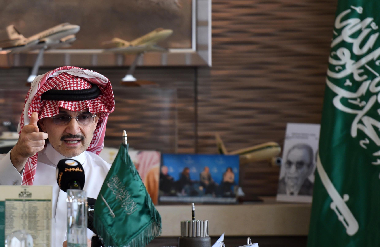 La fortune du prince Al-Walid ben Talal al-Saoud est estimée à plus de 20 milliards de dollars.