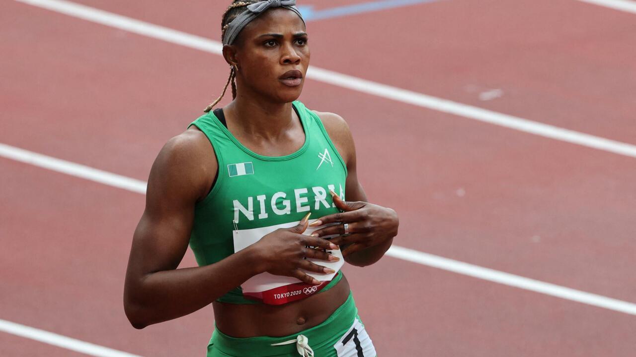 Nigerian sprinter Okagbare suspended from Tokyo Games after positive drug testgoogle-play-badge_EN