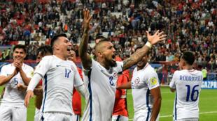 Les Chiliens se sont qualifiés pour la finale de la coupe des Confédérations, le 28 juin, à Kazan.