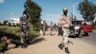 éthiopie tigré policiers