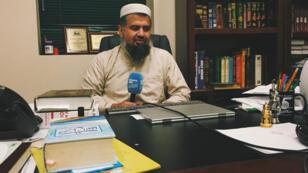 L'imam Zia Sheikh de la mosquée d'Irving, dans la banlieue de Dallas.