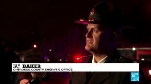 2021-03-17 09:09 Eight killed in Atlanta-area spa shootings, man captured