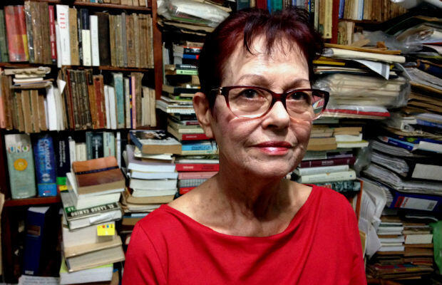 Independent Cuban journalist Miriam Leiva in her home in Havana in November, 2016