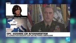 2020-06-12 16:08 Trump menace la CPI après l'ouverture d'une enquête sur des militaires américains