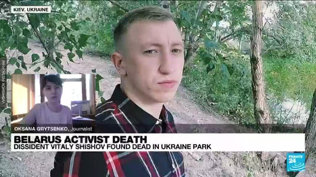 2021-08-03 11:06 Belarus dissident Vitaly Shishov found dead in Ukraine, police open murder case