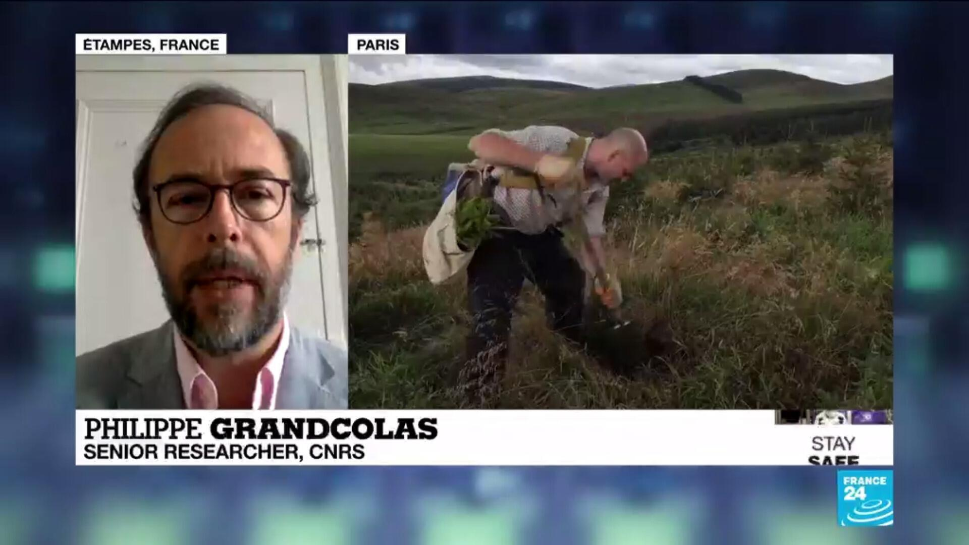 Philippe Grandcolas, a senior researcher at France's National Centre for Scientific Research, spoke to FRANCE 24 on the International Day of Biodiversity about how humans can improve preservation of the environment.