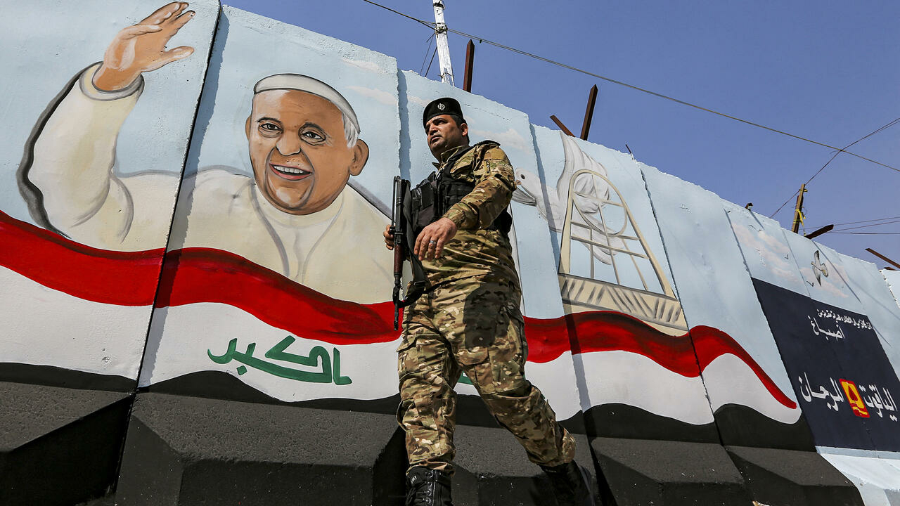 Rockets slam Iraq base hosting US troops days before Pope's visit