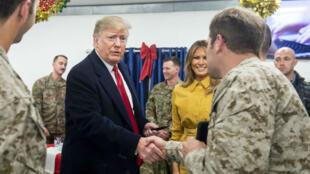 ترامب يزور العراق لأول مرة منذ انتخابه لتفقد الجنود الأمريكيين 26 كانون الأول 2019