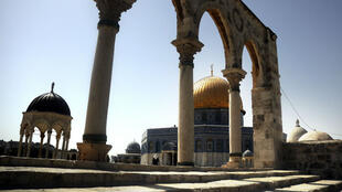 مشهد من المسجد الأقصى في القدس