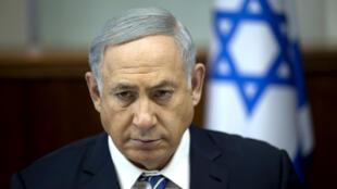 Le chef du gouvernement israélien Benjamin Netanyahou, photographié le 27 mars 2016.
