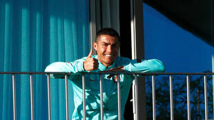 Cristiano Ronaldo races a stretch of quarantine after testing positive for coronavirus