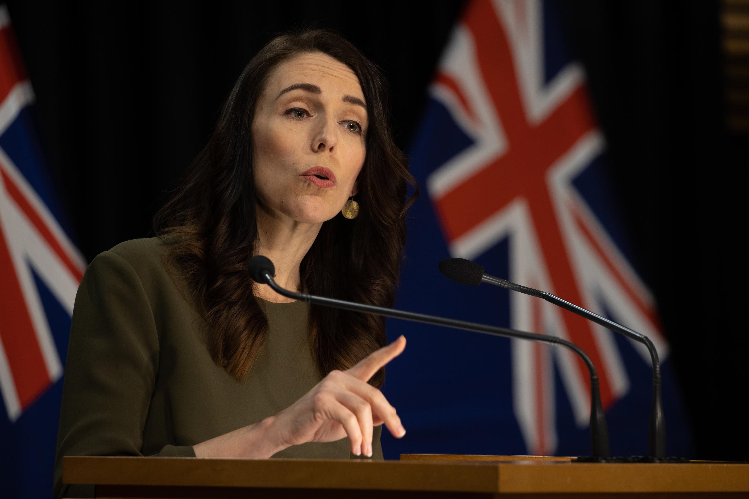 New Zealand's Prime Minister Jacinda Ardern led her party to a landslide win in the October 2020 general elections.