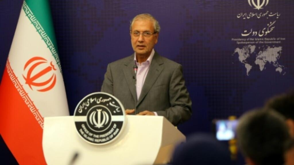 نتيجة بحث الصور عن المتحدث باسم الحكومة الإيرانية علي ربيعي
